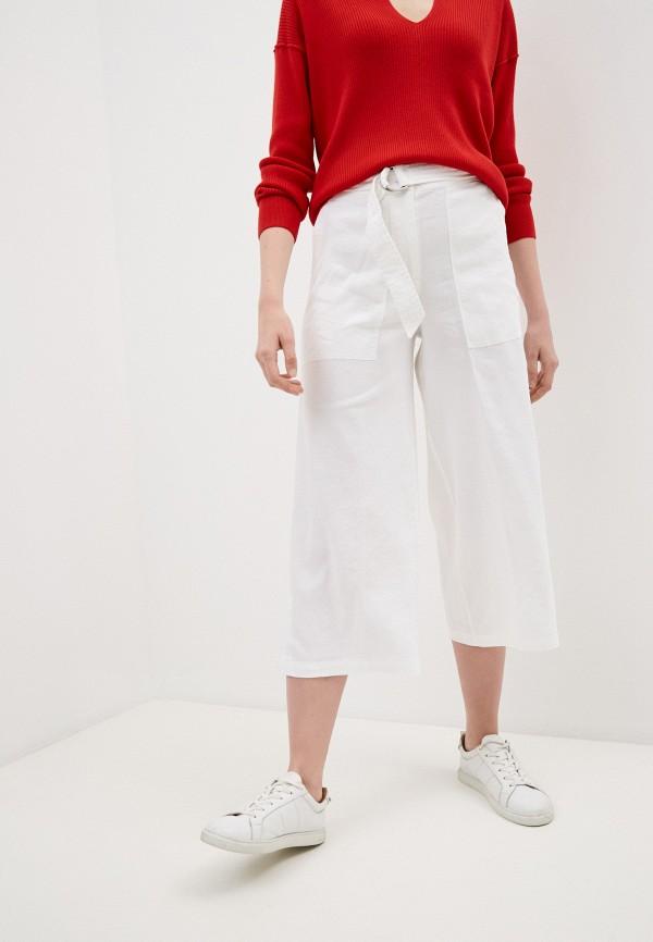 женские повседневные брюки calvin klein, белые