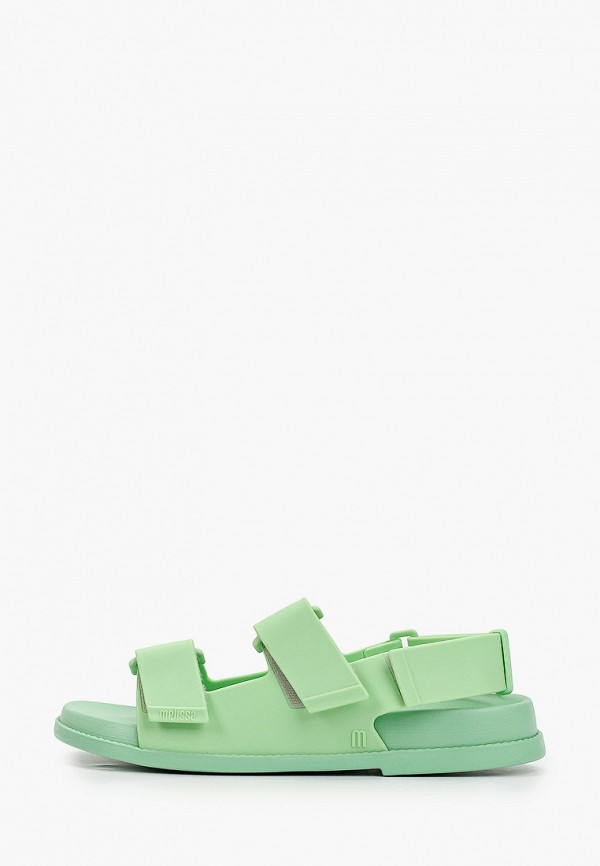 женские сандалии melissa, зеленые