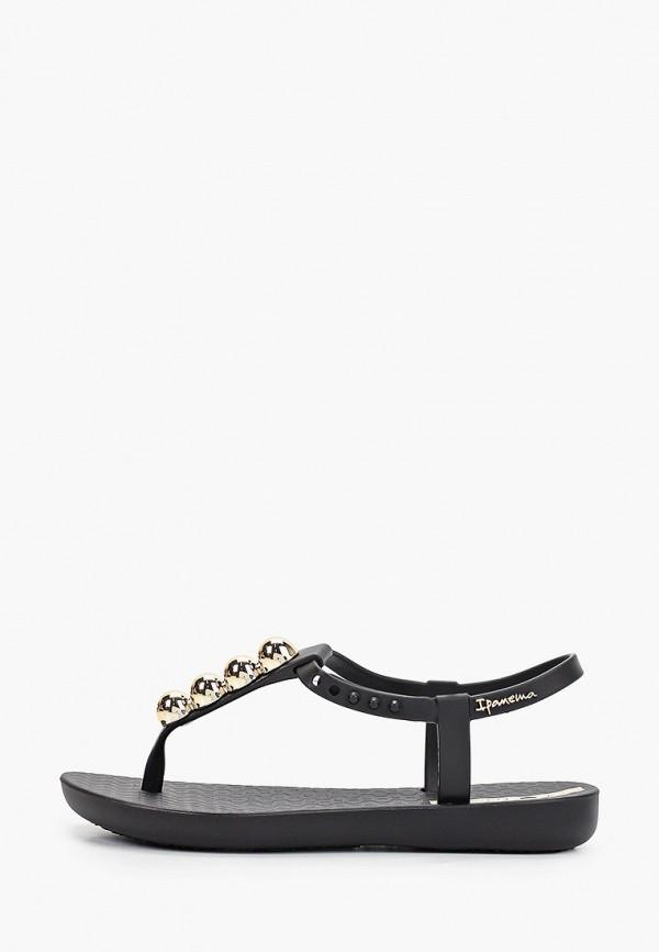 сандалии ipanema для девочки, черные