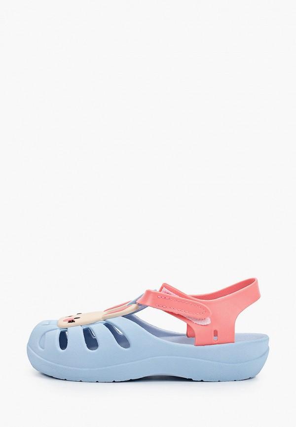 сандалии ipanema для девочки, голубые