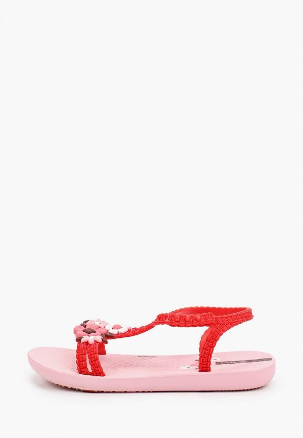 сандалии ipanema для девочки, красные