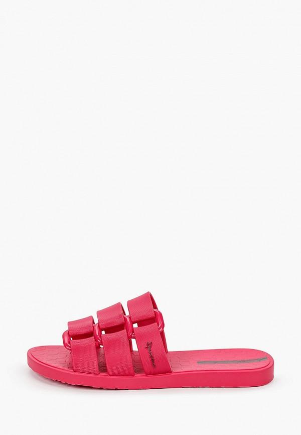 женское сабо ipanema, розовое