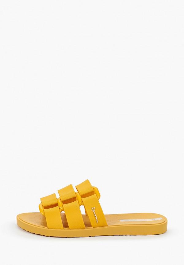 женское сабо ipanema, желтое
