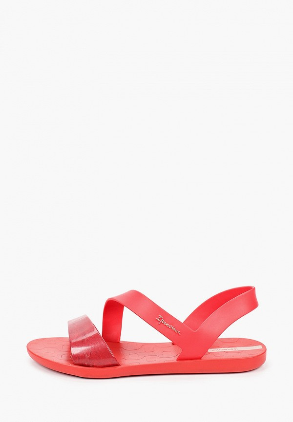 женские сандалии ipanema, красные