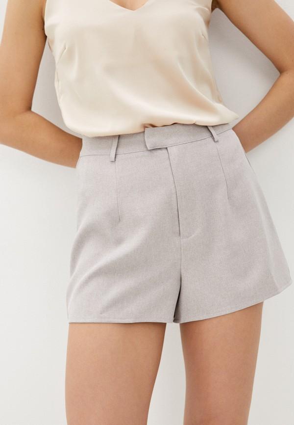 женские повседневные шорты missguided, бежевые