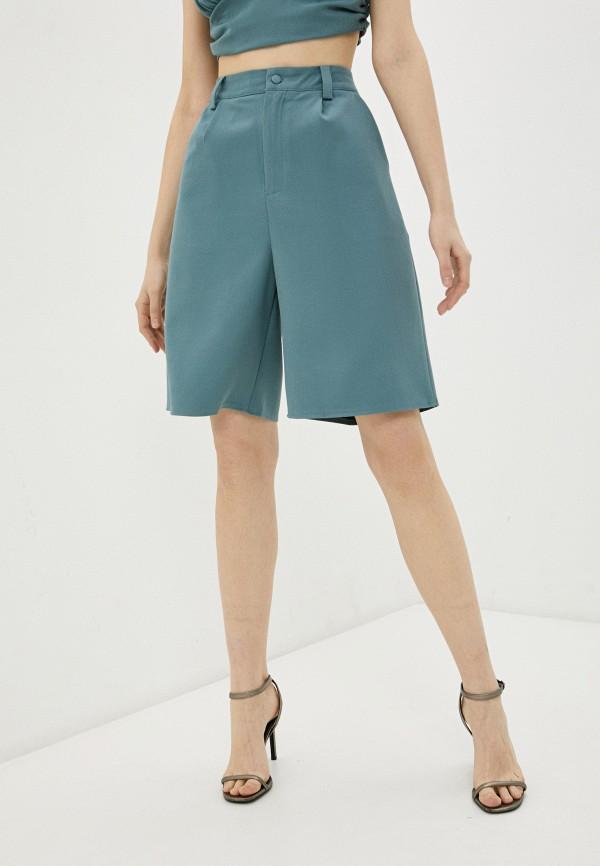 женские повседневные шорты missguided, зеленые