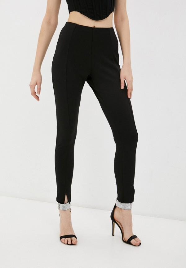 женские повседневные брюки missguided, черные