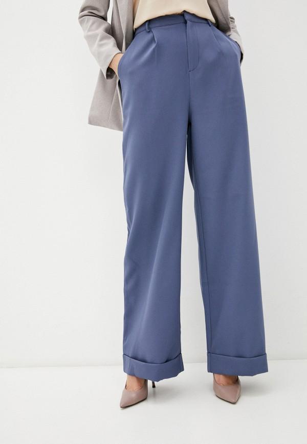 женские повседневные брюки missguided, голубые
