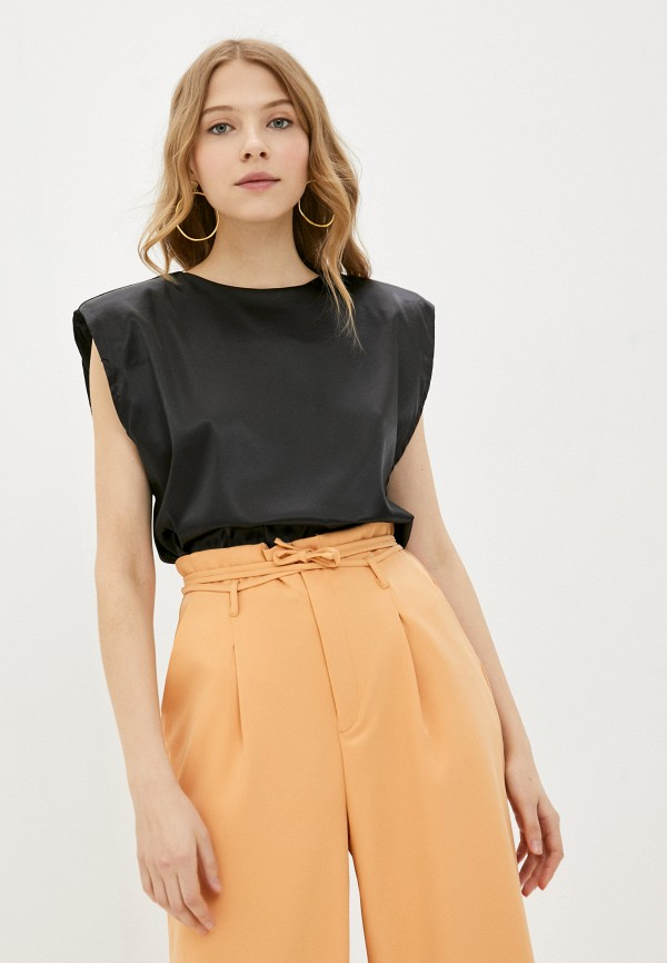 женская блузка missguided, черная
