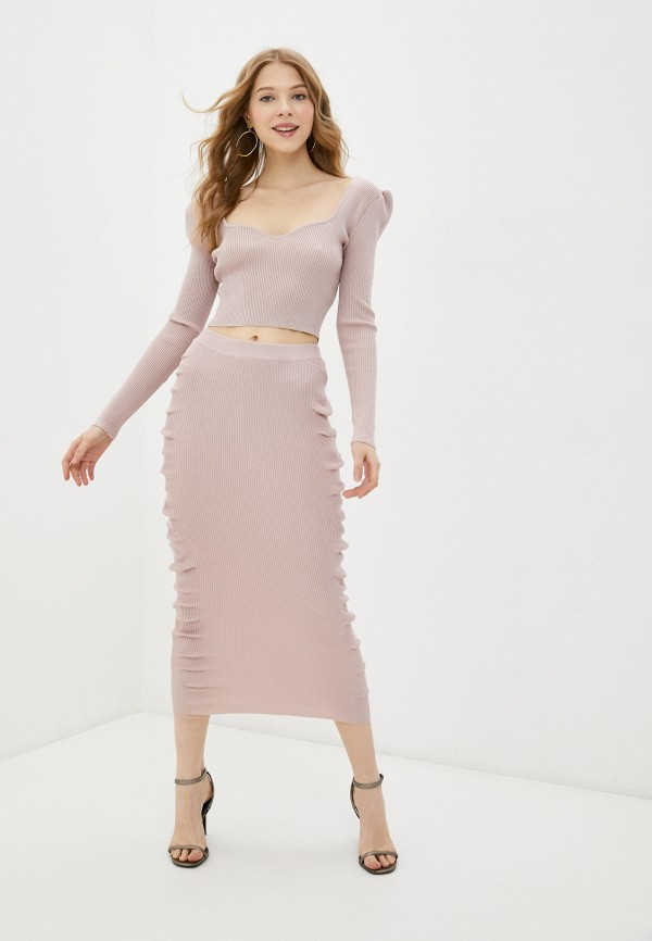 женский костюм missguided, розовый