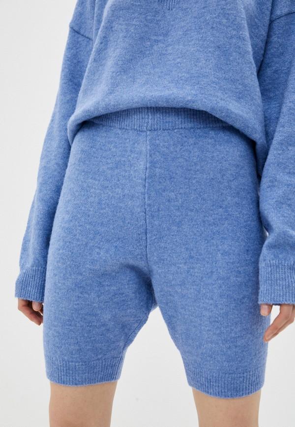 женские повседневные шорты missguided, голубые