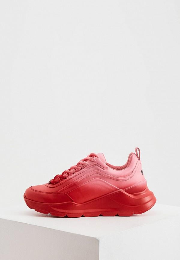 женские кроссовки msgm, красные