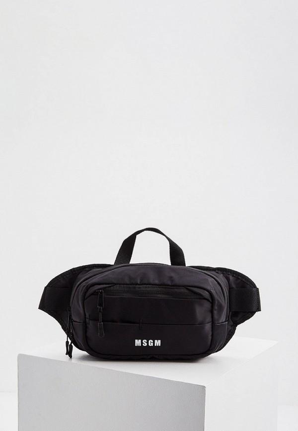 женская поясные сумка msgm, черная