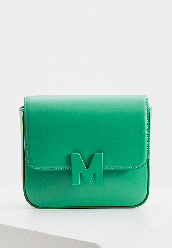 женская поясные сумка msgm, зеленая