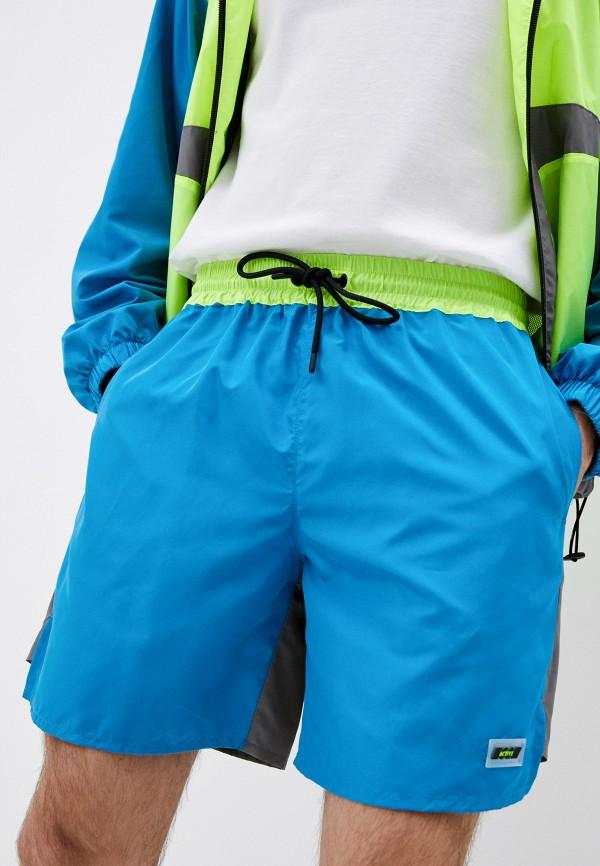 мужские спортивные шорты msgm, разноцветные