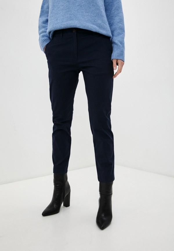 женские повседневные брюки gant, синие