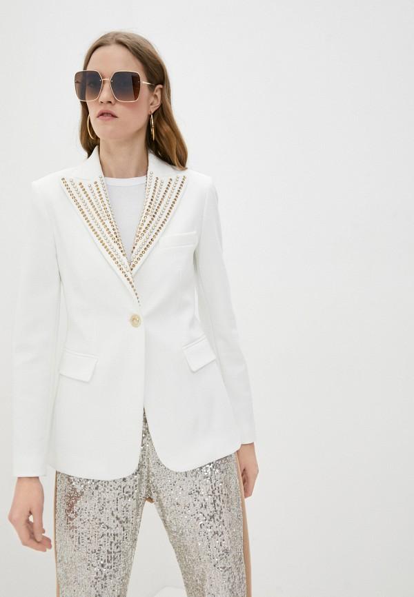 женский пиджак pinko, белый