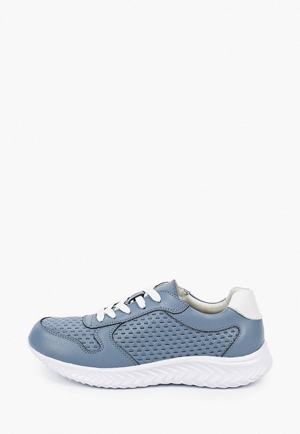 женские низкие кроссовки der spur, синие