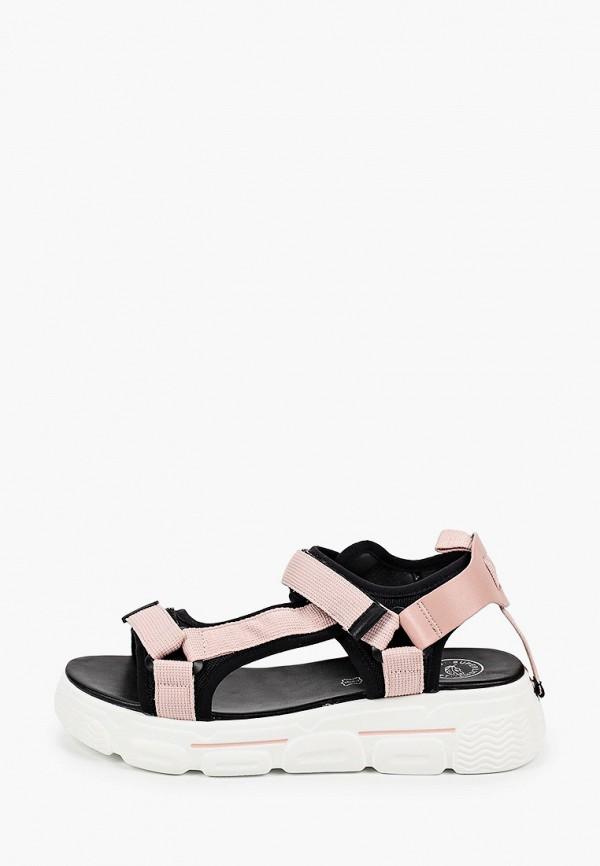 женские сандалии der spur, розовые