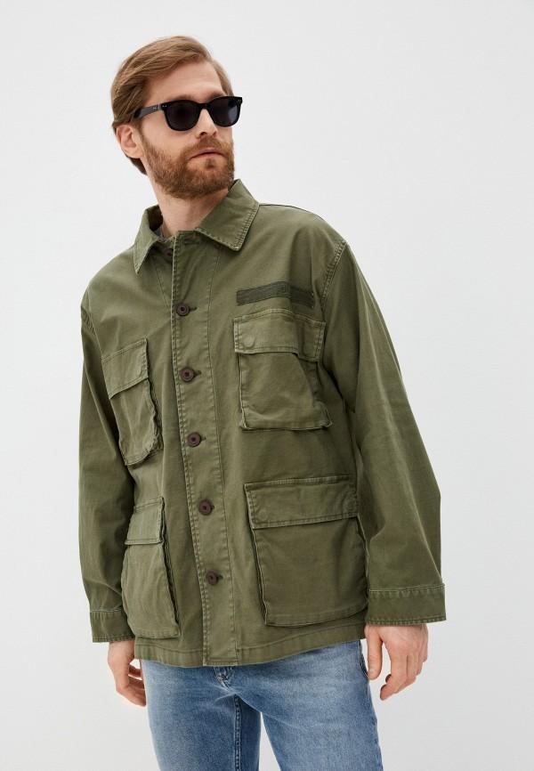 мужская куртка closed, хаки