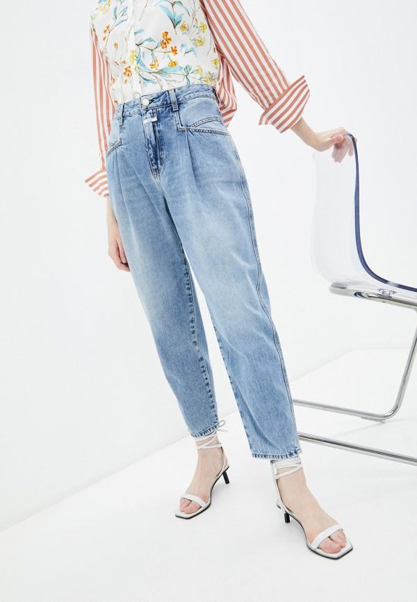 женские джинсы closed, голубые