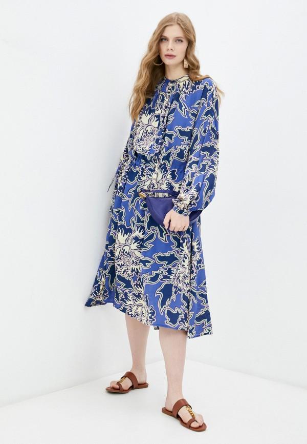 женское платье closed, синее