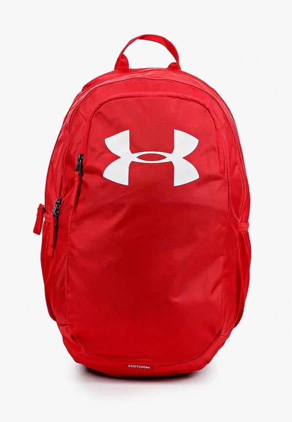женский рюкзак under armour, красный