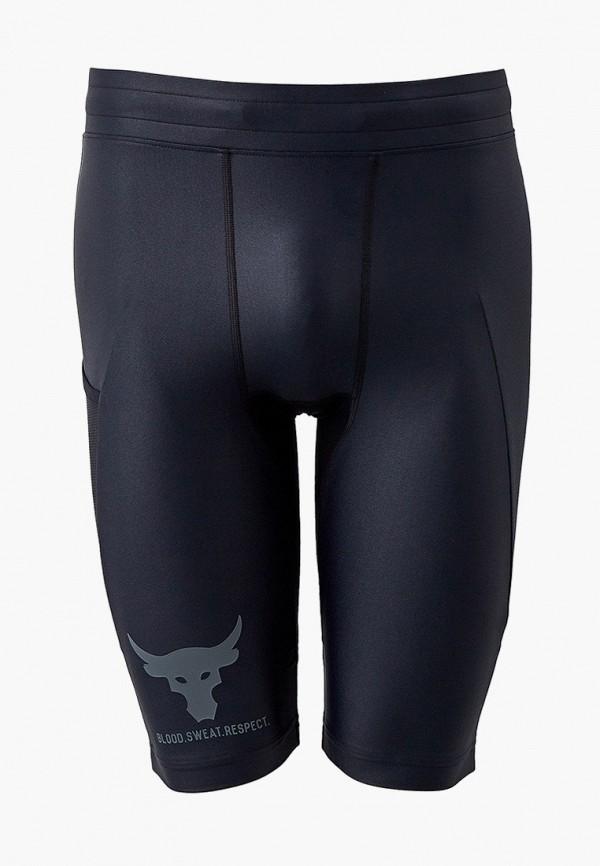 мужские спортивные шорты under armour, черные