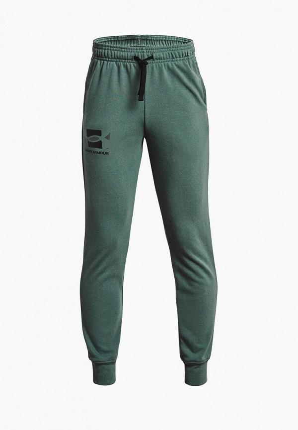 спортивные брюки under armour для мальчика, хаки