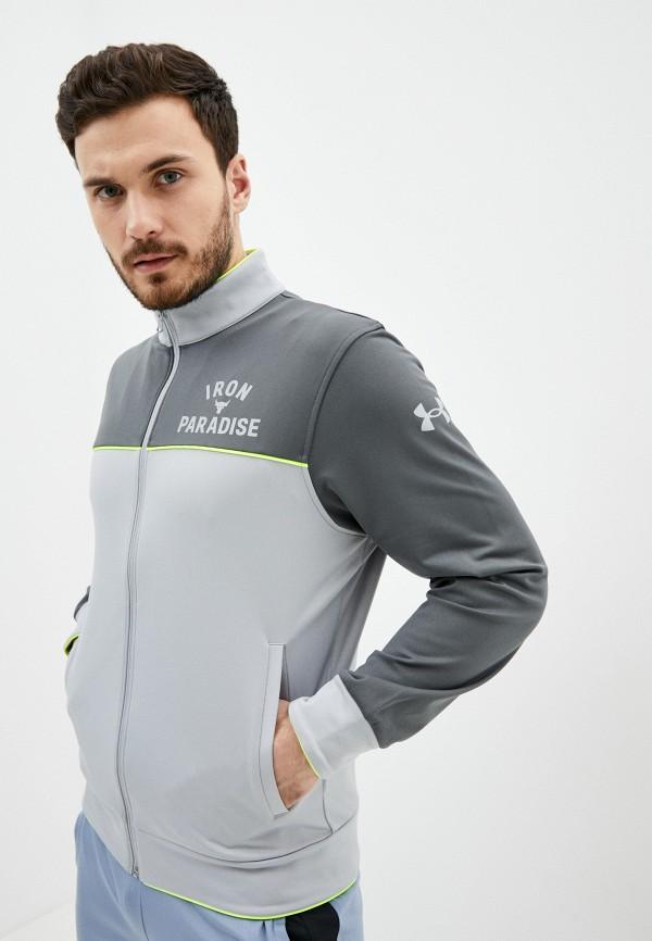 мужская спортивные олимпийка under armour, серая