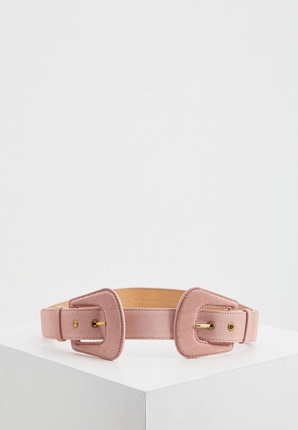 женский ремень guess by marciano, розовый
