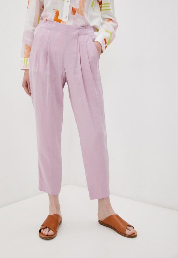 женские повседневные брюки bimba y lola, розовые