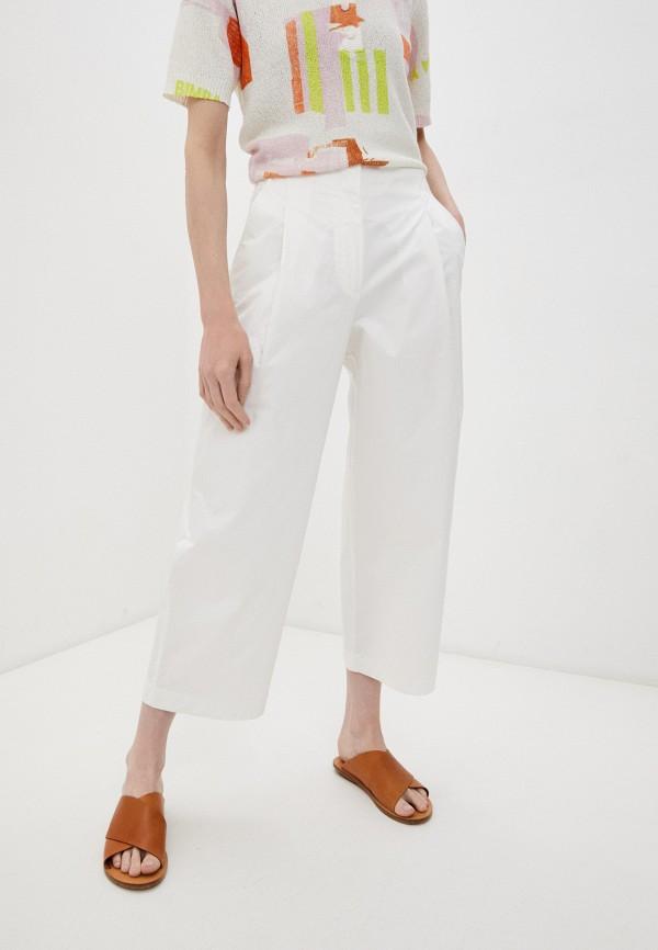 женские повседневные брюки bimba y lola, белые