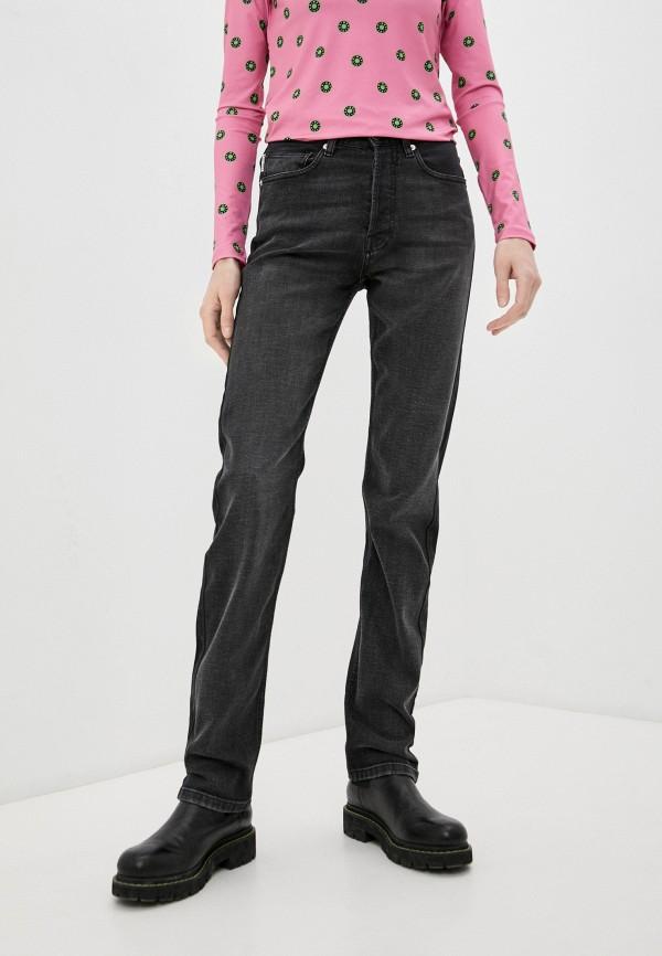 женские прямые джинсы bimba y lola, черные