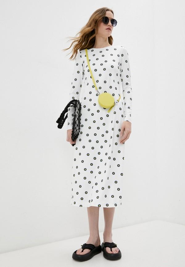 женское платье bimba y lola, белое