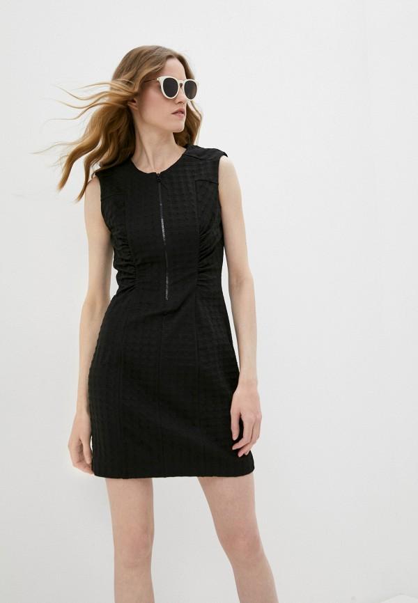 женское платье-футляр bimba y lola, черное