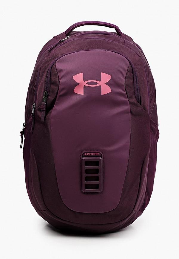мужской рюкзак under armour, фиолетовый