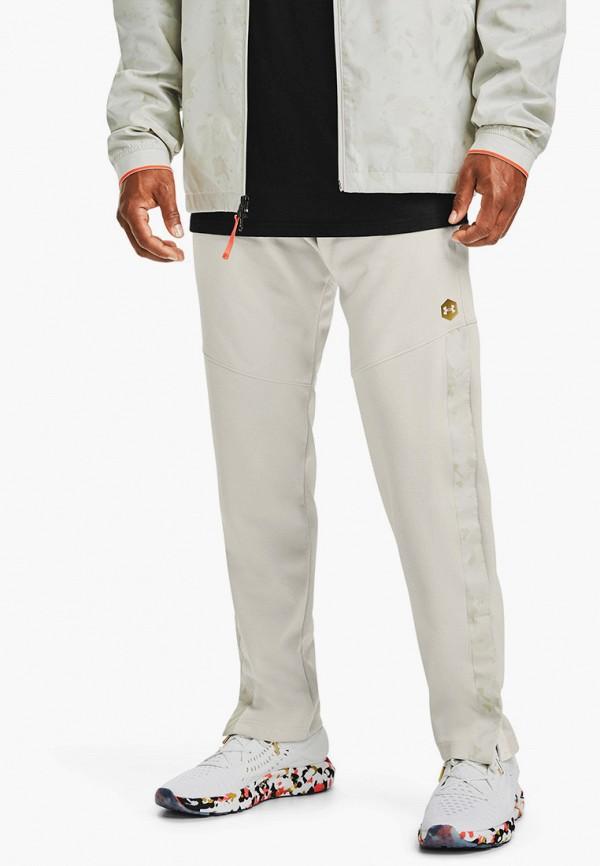 мужские спортивные брюки under armour, белые