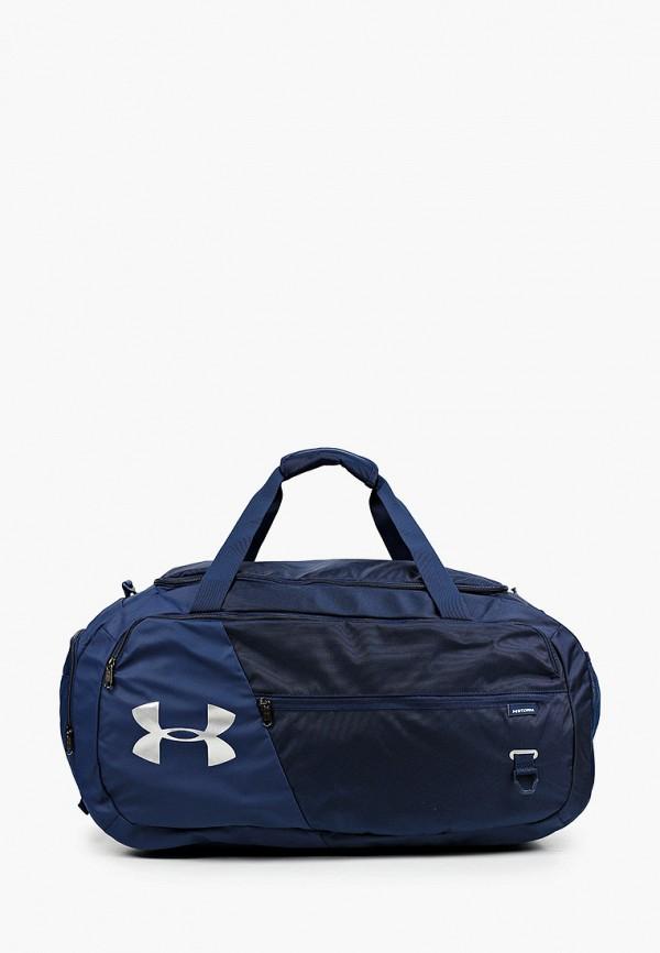 женская сумка under armour, синяя