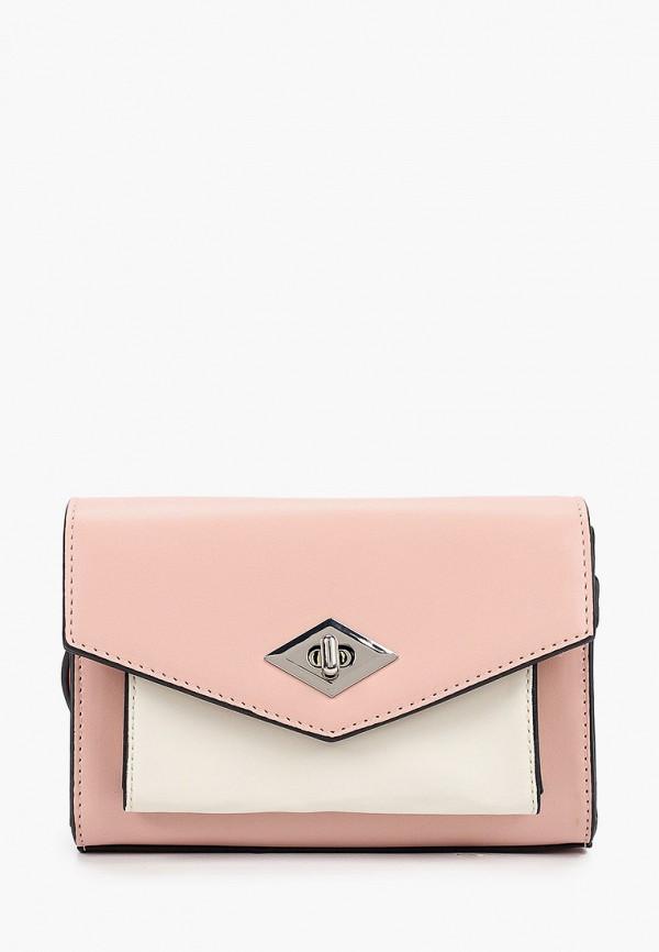 Сумка Fabretti розового цвета