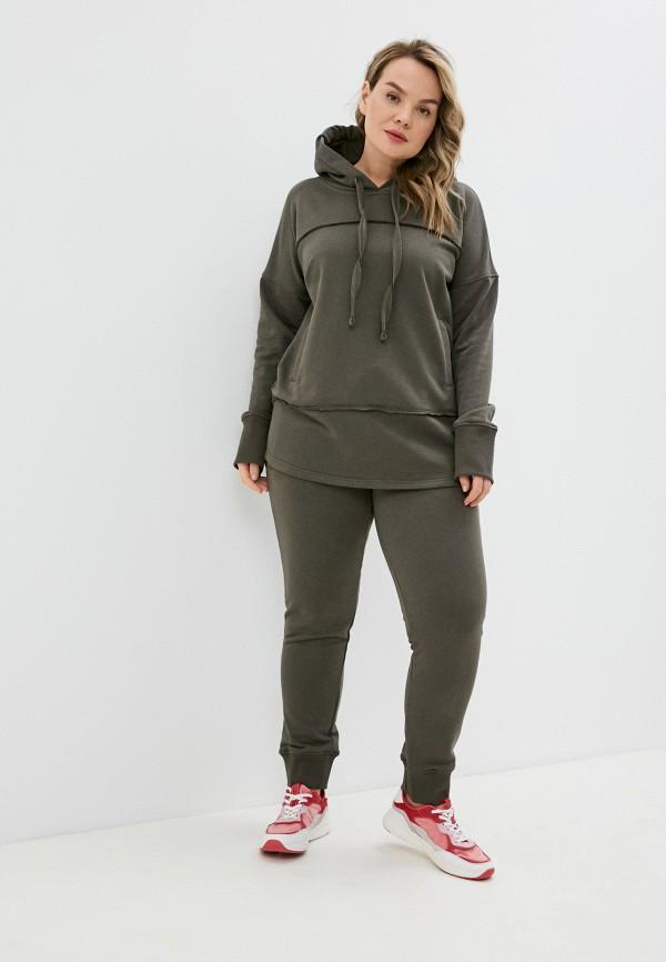 женский спортивный костюм sitlly, хаки