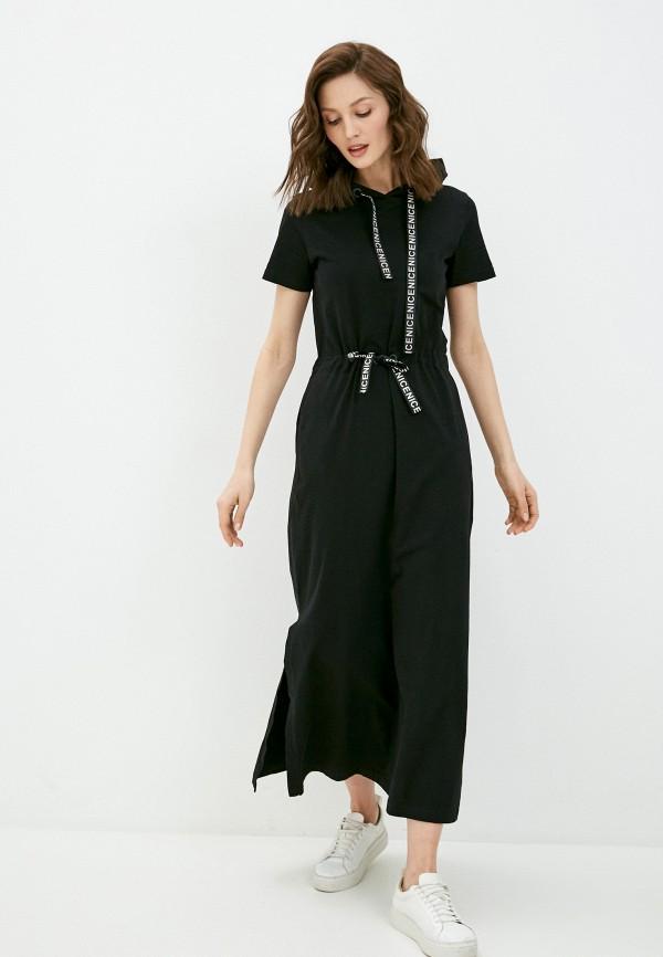 женское спортивные платье sitlly, черное