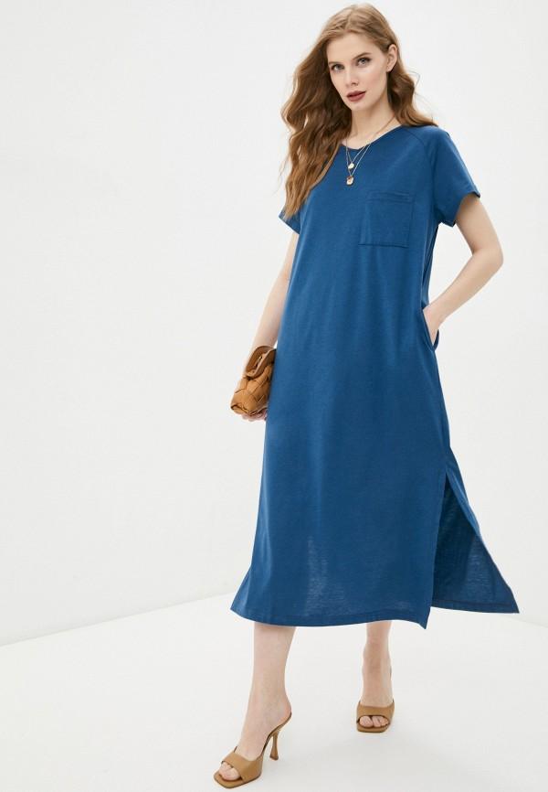 женское спортивные платье sitlly, синее