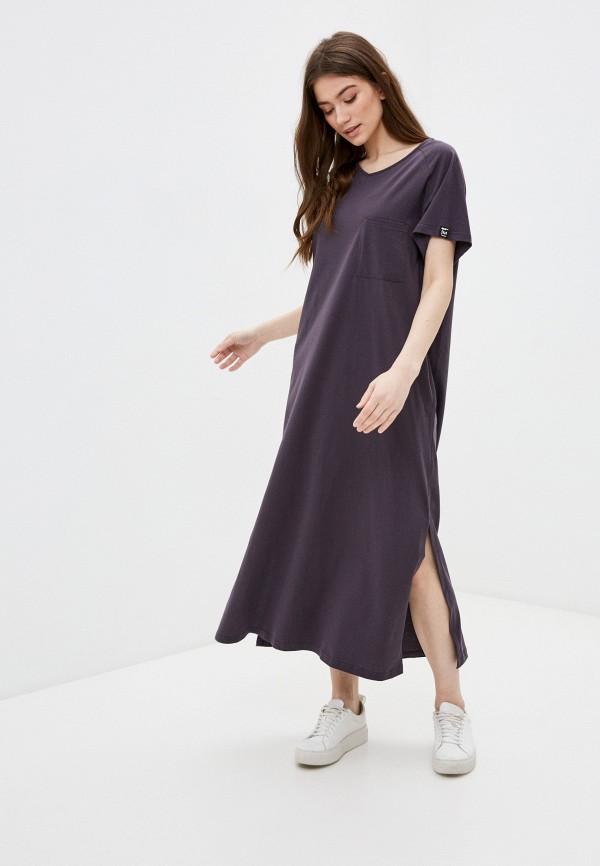 женское спортивные платье sitlly, фиолетовое
