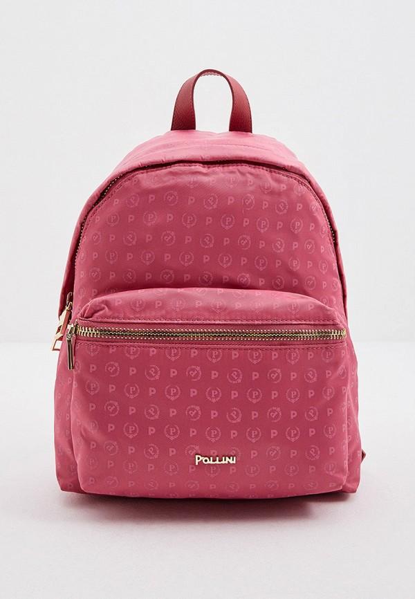 женский рюкзак pollini, розовый
