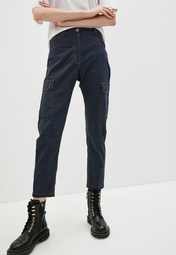 женские брюки aeronautica militare, серые