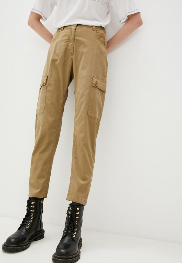 женские брюки aeronautica militare, хаки