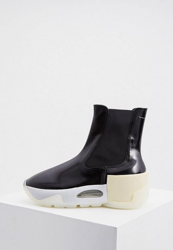 женские ботинки mm6 maison margiela, черные