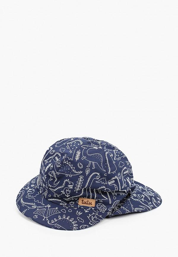 кепка tutu для мальчика, синяя