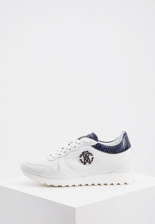мужские кроссовки roberto cavalli, белые